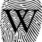 Der wikipedianische Fingerabdruck Quelle wikimedia.org, Datei Fingerprint_picture.svg, Autor User:Wilfredor, Bild verändert